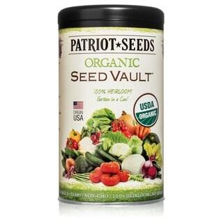 Organic Seed Vault 100 Heirloom Non-GMO Seeds - 21 Variety Pack