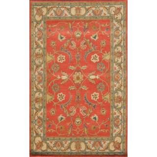 Paragon Rust/ Ivory Oriental Wool Rug (8' x 11')