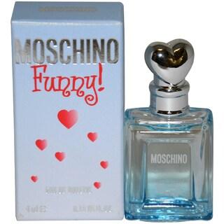 Moschino Funny Women's 4 mL Eau de Toilette Splash (Mini)