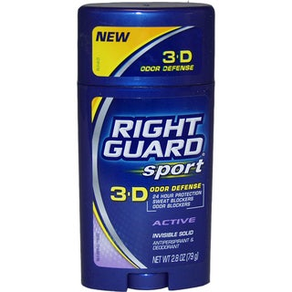 Right Guard Sport 3D Odor Defense Antiperspirant Deodorant Stick