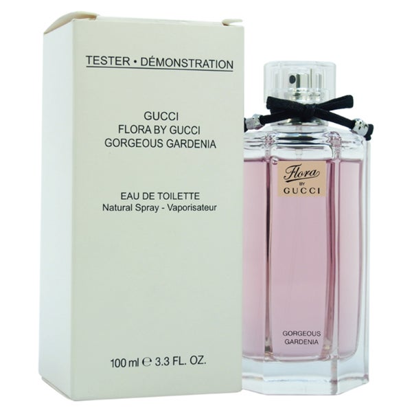 5ae95e8a0eb Shop Gucci Gorgeous Gardenia Women s 3.3-ounce Eau de Toilette Spray  (Tester) - Free Shipping Today - Overstock - 9027619