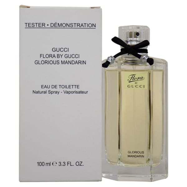 ec06483ce9d Shop Gucci Glorious Mandarin Women s 3.3-ounce Eau de Toilette Spray  (Tester) - Free Shipping Today - Overstock - 9027624