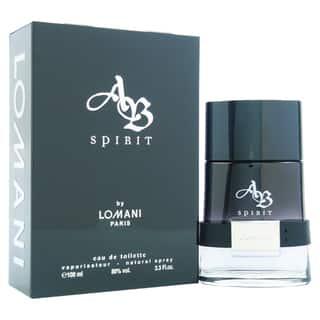 Lomani AB Spirit Men's 3.3-ounce Eau de Toilette Spray|https://ak1.ostkcdn.com/images/products/9027642/P16227822.jpg?impolicy=medium