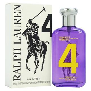 Ralph Lauren The Big Pony Collection # 4 Women's 3.4-ounce Eau de Toilette Spray (Tester)