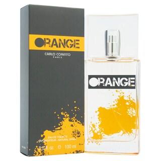 Carlo Corinto Carlo Corinto Orange Men's 3.3-ounce Eau de Toilette Spray