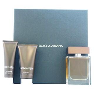 Dolce & Gabbana The One Men's 3-piece Gift Set
