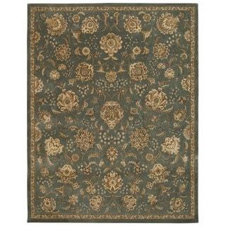 Floral Mist Wool Area Rug (7'9 x 9'9)