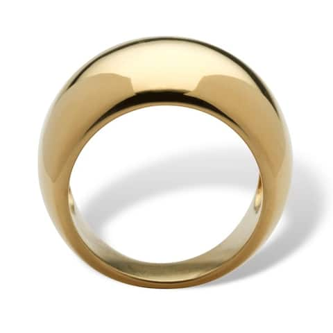 Yellow Gold-Plated Ring (8mm)