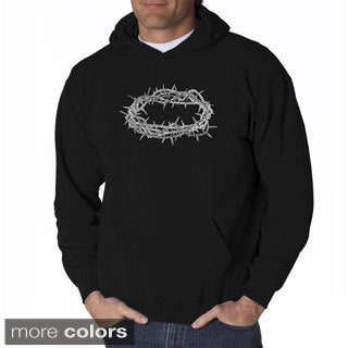 Los Angeles Pop Art Men's 'Crown of Thorns' Sweatshirt