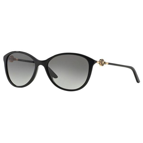 Versace Women's 'VE4251 GB1/11' Cat Eye Sunglasses - Black