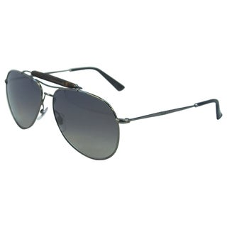 Gucci Men's 'GG 2235/S KJ1LG' Metal Aviator Sunglasses