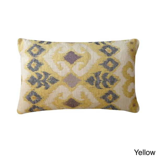 Throw Pillows 20 X 12 Yellow : Jiti The Eye Abstract 12 x 20-inch Lumbar Accent Pillow - Free Shipping Today - Overstock.com ...