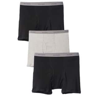Hanes Men's Big and Tall Underwear Boxer Briefs (Pack of 3)|https://ak1.ostkcdn.com/images/products/9028162/P16228223.jpg?impolicy=medium