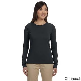 Women's Organic Cotton Long Sleeve T-shirt