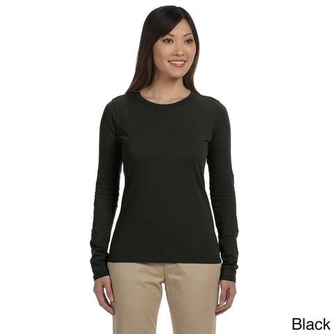 Women's Organic Cotton Long Sleeve T-shirt