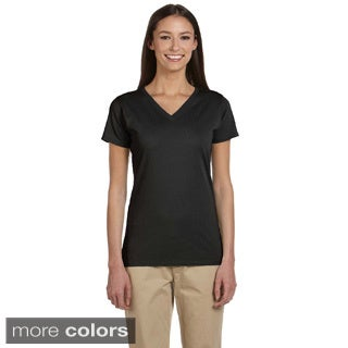 Women's Organic Cotton Short Sleeve V-neck T-shirt