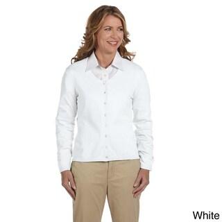 Women's Stretch Everyday Cardigan Sweater (Option: XL,White)