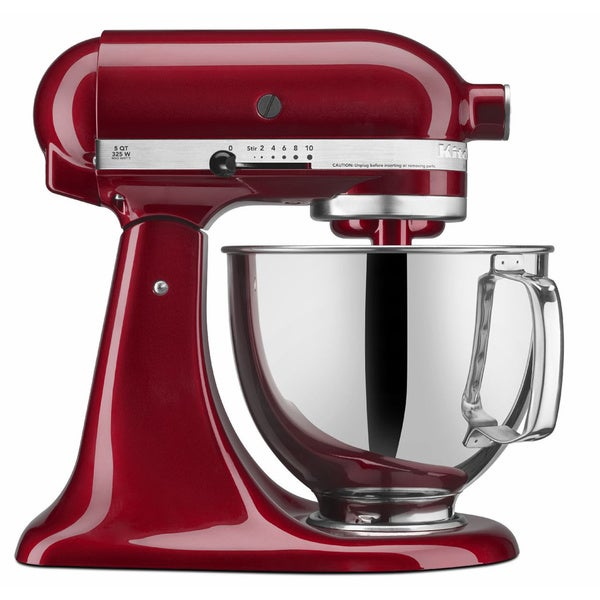 Shop Kitchenaid Rrk150gd Grenadine 5 Quart Artisan Tilt