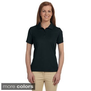 Women's Dri-Fast Advantage Solid Mesh Polo Shirt (5 options available)