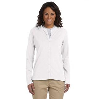 Women's Stretch Jersey Long Sleeve Cardigan