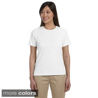 Women's Stretch Jersey Crew Neck T-shirt