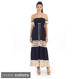 Hadari Crocket Maxi Dress