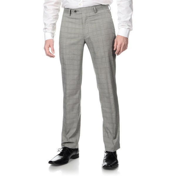Gray Flannel Trousers! The classic gray flannel pant is a staple of the well-dressed man. Even more than a navy blue blazer, they form the foundation for your wardrobe.