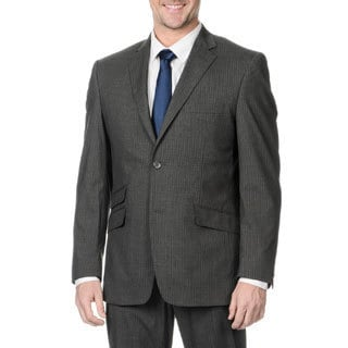 Perry Ellis Men's Slim Fit Medium Grey Stripe Suit Separate Blazer