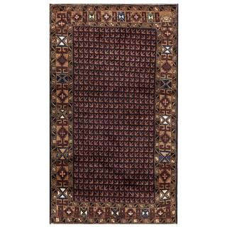 Herat Oriental Semi-antique Afghan Hand-knotted Tribal Balouchi Wool Rug (2'8 x 4'7)