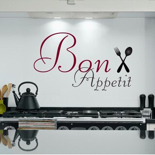 Bon Appetite Inspirational Vinyl Wall Art