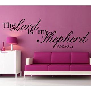 Psalms 23 Inspirational Vinyl Wall Art