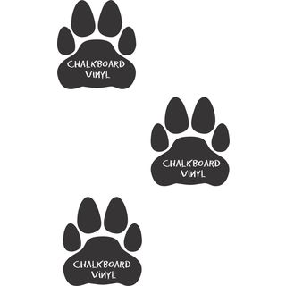 Paw Prints Inspirational Vinyl Wall Art