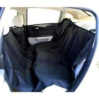 Black Adjustable Pet Car Seat Cover 55 X 75