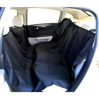 Black Adjustable Pet Car Seat Cover (55 x 75)