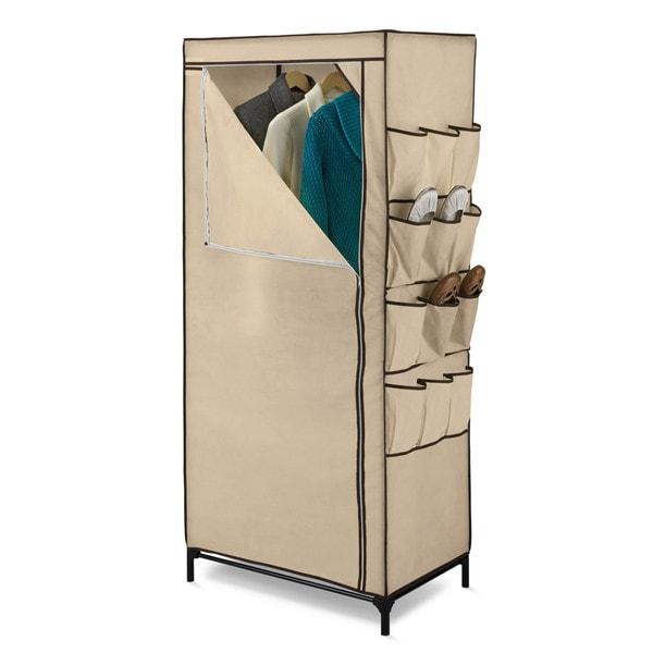 Shop Honey Can Do Wrd 01270 27 Portable Cloth Storage Wardrobe