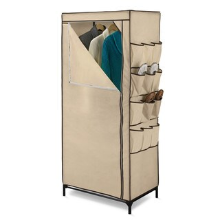 "Honey-can-do WRD-01270 27"" Portable Cloth Storage Wardrobe"