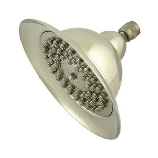 Vintage Bell 6-inch Satin Nickel Shower Head