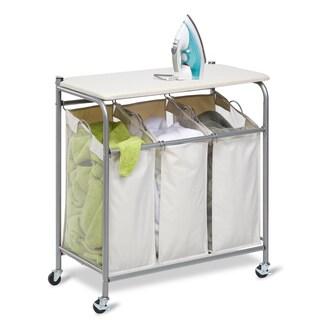 Honey Can Do SRT-01196 Ironing and Sorter Combo Laundry Center