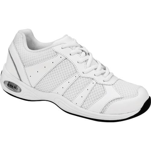 Women's Drew Hara White Leather/Mesh
