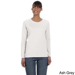 Link to Women's Heavy Cotton Missy Fit Long Sleeve T-shirt Similar Items in Tops