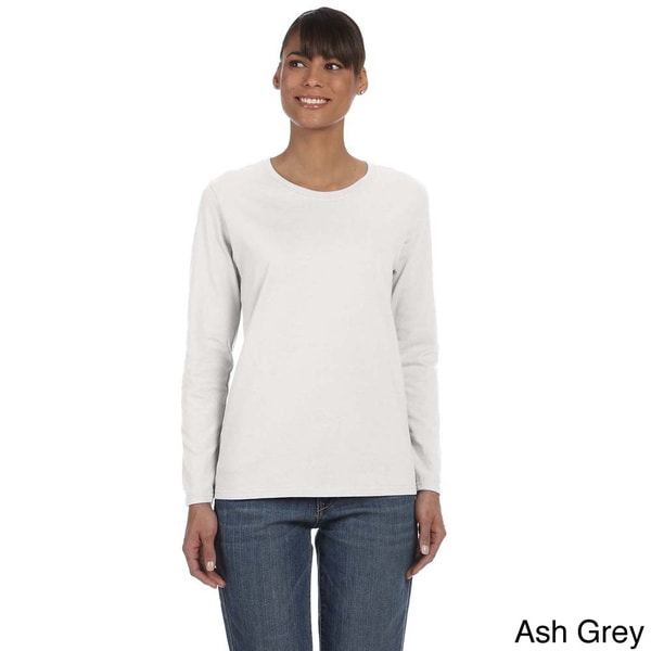 Women's Heavy Cotton Missy Fit Long Sleeve T-shirt - Free Shipping ...