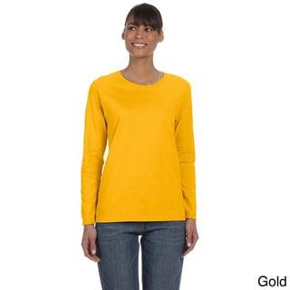 Women's Heavy Cotton Missy Fit Long Sleeve T-shirt
