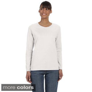 Women's Heavy Cotton Missy Fit Long Sleeve T-shirt