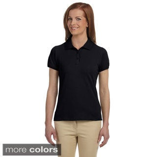 Women's Dri-Fast Pique Polo Shirt (5 options available)