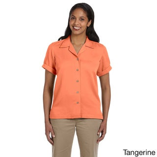 Women's 'Isla' Coconut Button Camp Shirt