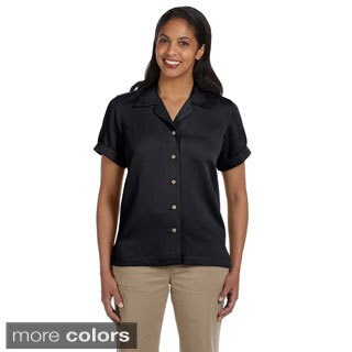 Women's 'Isla' Coconut Button Camp Shirt