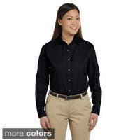 Women's Long Sleeve Titan Twill Button-down Shirt
