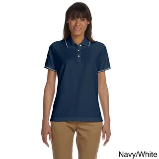 Women's Pima Pique Short Sleeve Polo Shirt (More options available)