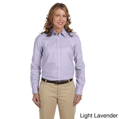 Women's Performance Plus Oxford Collared Top