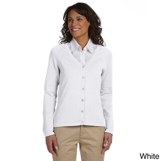 Women's Solid Six-button Cardigan (2 options available)